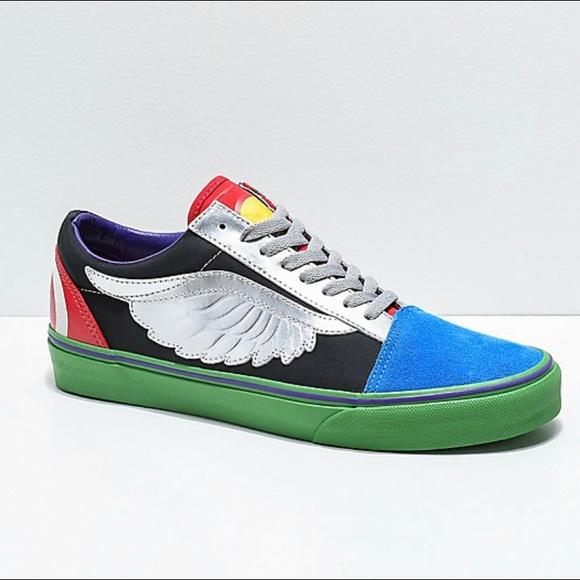 Vans x Marvel Old Skool Avengers Skate Shoes NWT
